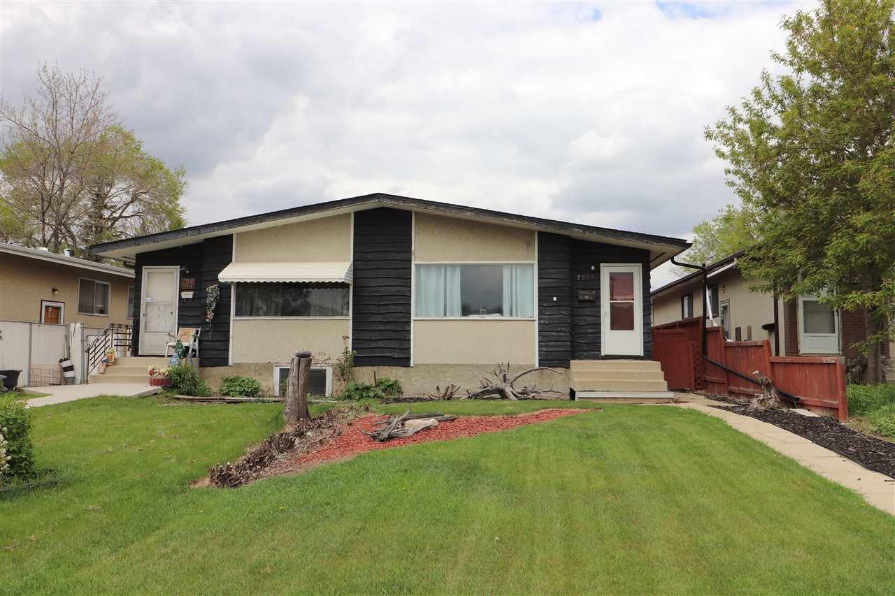 Main Photo: 7208 83 Avenue in Edmonton: Zone 18 House Half Duplex for sale : MLS®# E4197929