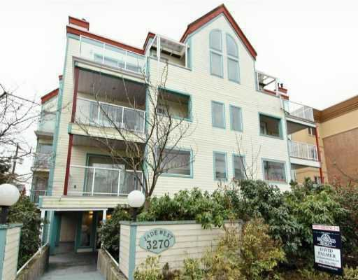 "Main Photo: 301 3270 W 4TH Avenue in Vancouver: Kitsilano Condo for sale in ""JADE"" (Vancouver West)  : MLS®# V648960"
