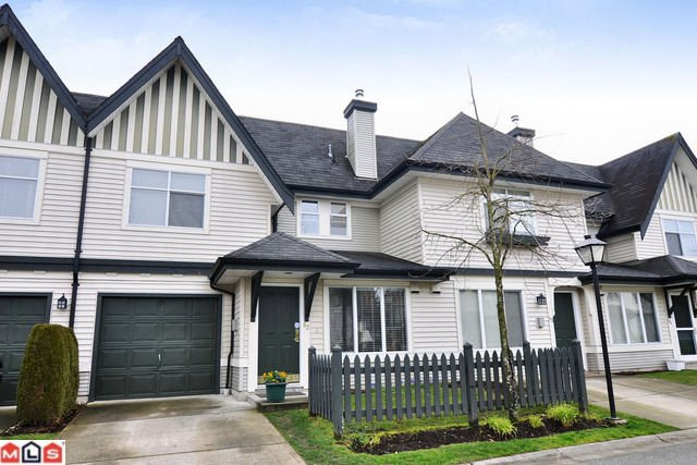 "Main Photo: # 62 18883 65TH AV in Surrey: Townhouse for sale in ""Applewood"" : MLS®# F1109959"