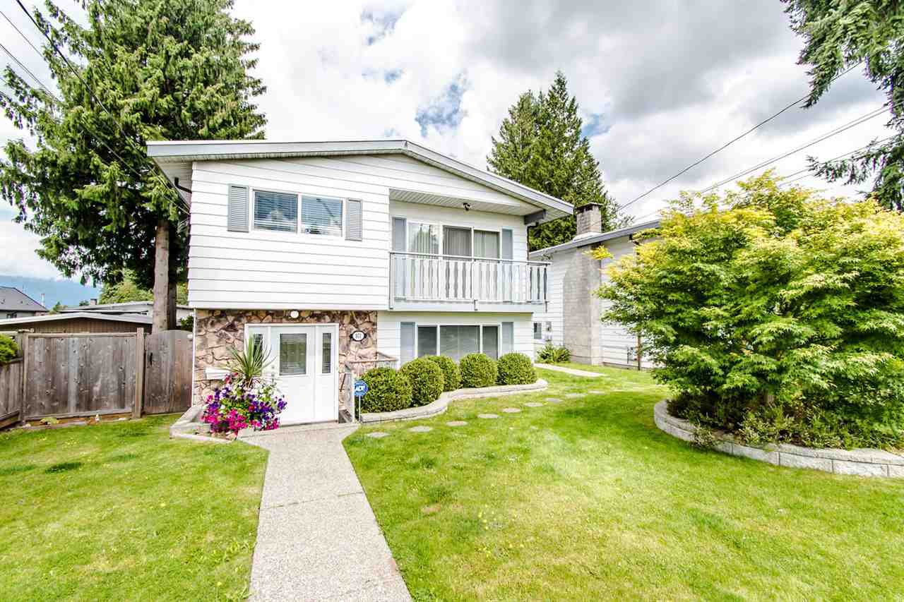 Main Photo: 971 REGAN Avenue in Coquitlam: Central Coquitlam House 1/2 Duplex for sale : MLS®# R2397027