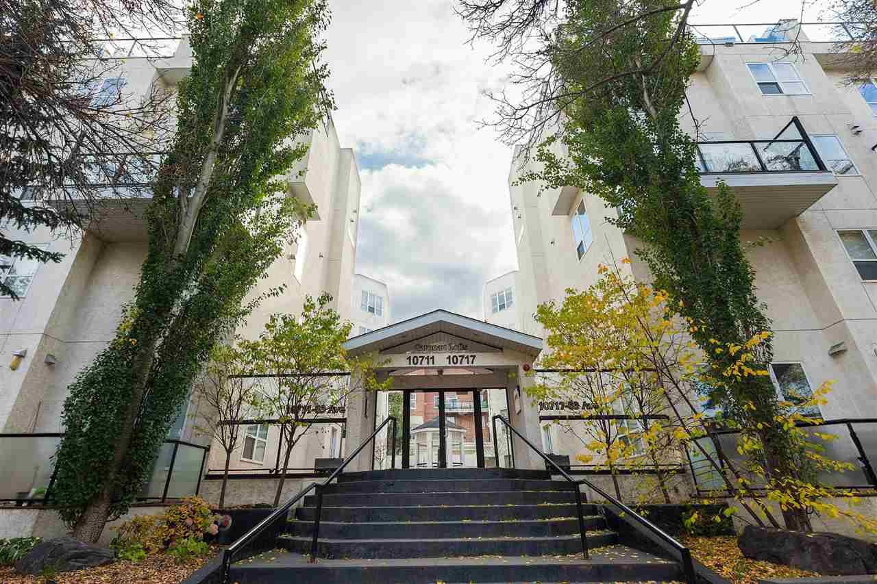Main Photo: 118 10717 83 Avenue in Edmonton: Zone 15 Condo for sale : MLS®# E4172510