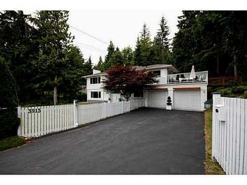 Main Photo: 3915 WESTRIDGE Ave in West Vancouver: Home for sale : MLS®# V1073723