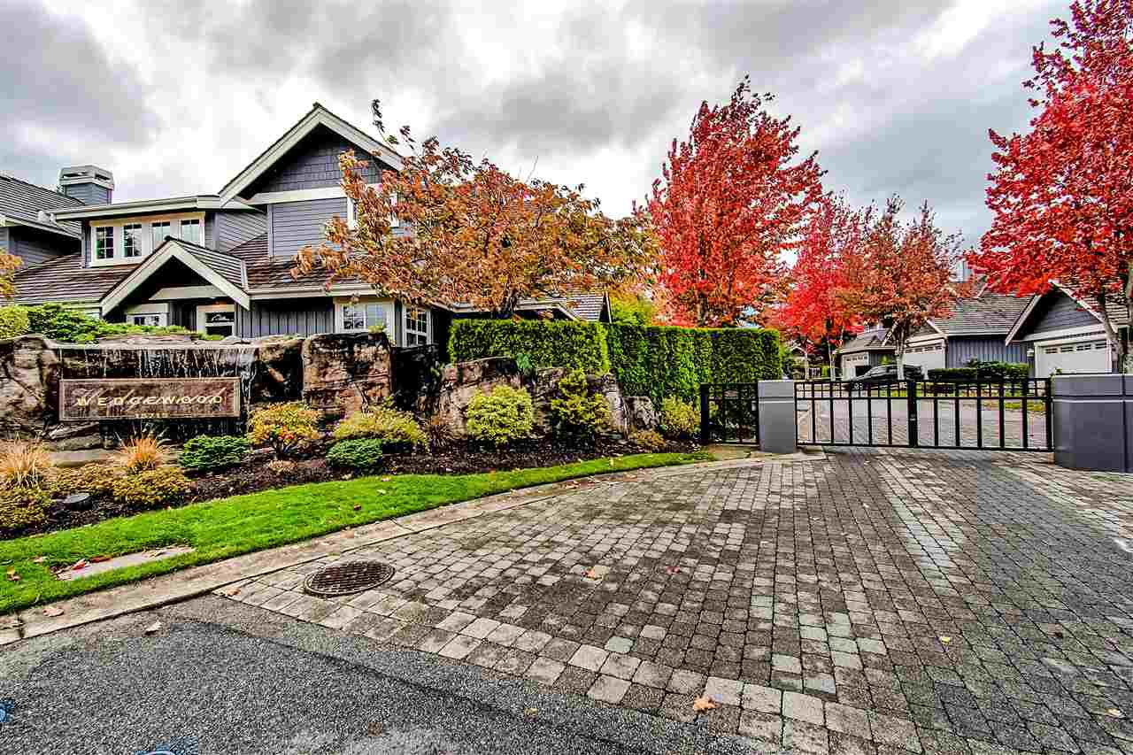 "Main Photo: 71 15715 34 Avenue in Surrey: Morgan Creek Townhouse for sale in ""WEDGEWOOD"" (South Surrey White Rock)  : MLS®# R2430855"