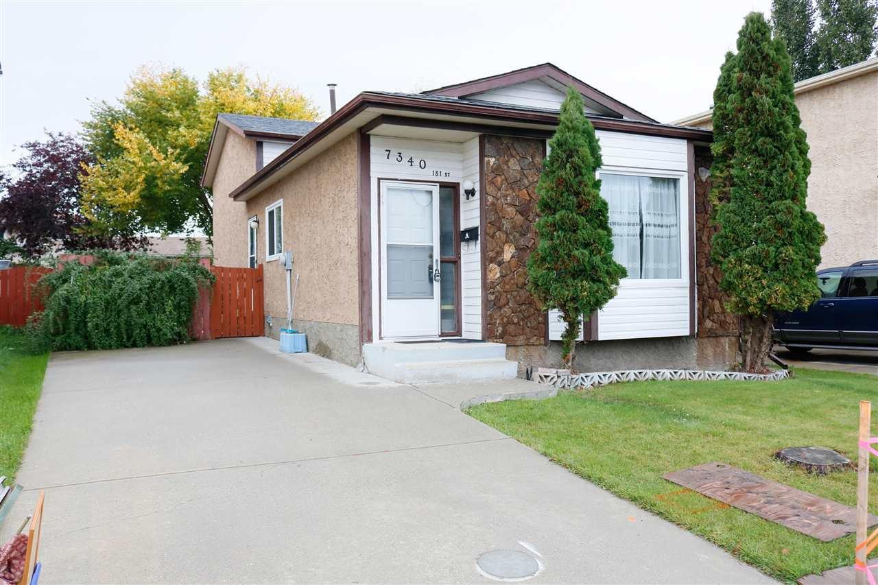 Main Photo: 7340 181 Street in Edmonton: Zone 20 House for sale : MLS®# E4174601
