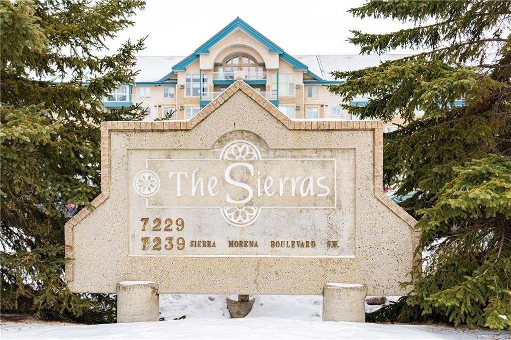 Main Photo: 214 7239 SIERRA MORENA Boulevard SW in Calgary: Signal Hill Apartment for sale : MLS®# C4282554