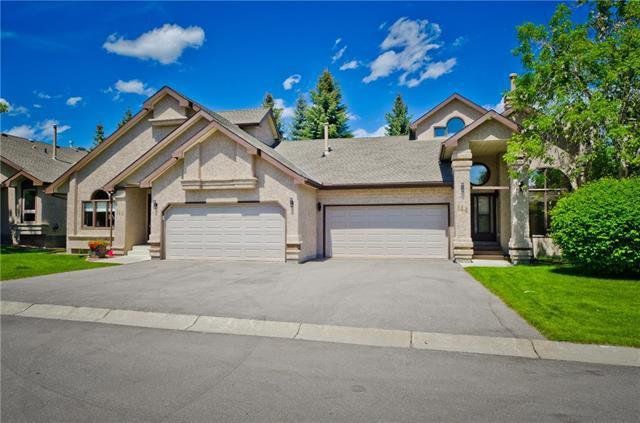 Main Photo: 144 OAKBRIAR Close SW in Calgary: Palliser Semi Detached for sale : MLS®# C4281528