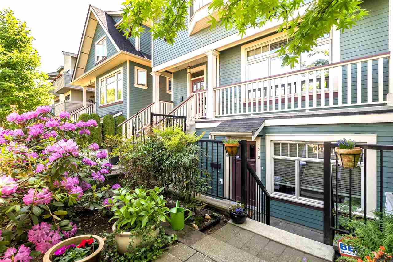 Photo 3: Photos: 1512 GRAVELEY Street in Vancouver: Grandview Woodland Townhouse for sale (Vancouver East)  : MLS®# R2457757