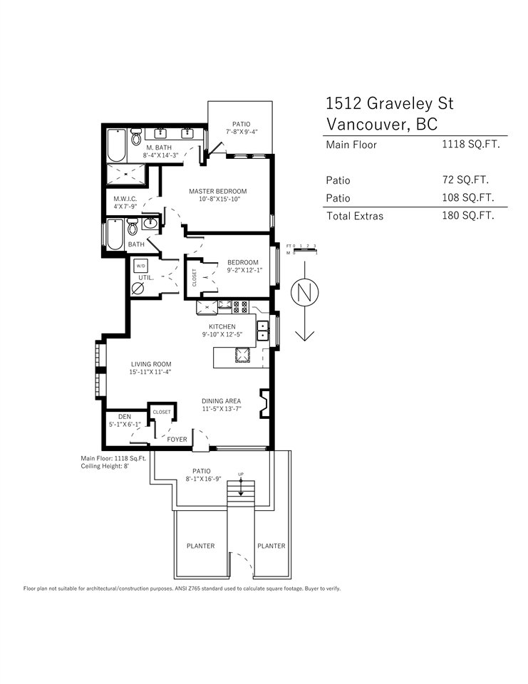 Photo 20: Photos: 1512 GRAVELEY Street in Vancouver: Grandview Woodland Townhouse for sale (Vancouver East)  : MLS®# R2457757