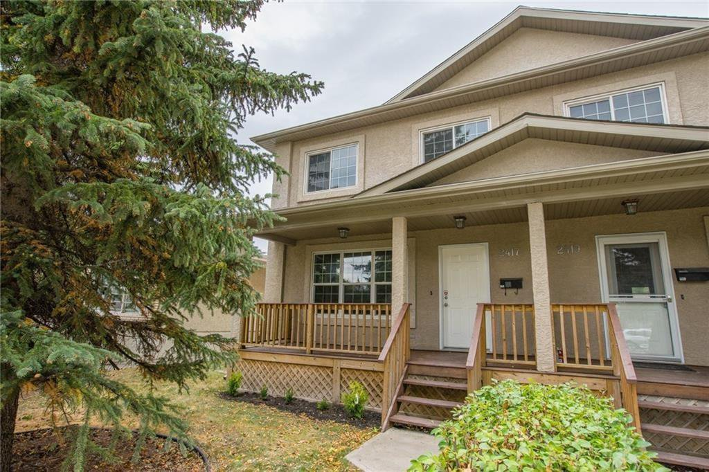 Main Photo: 2417 53 Avenue SW in Calgary: North Glenmore Park Semi Detached for sale : MLS®# C4299772