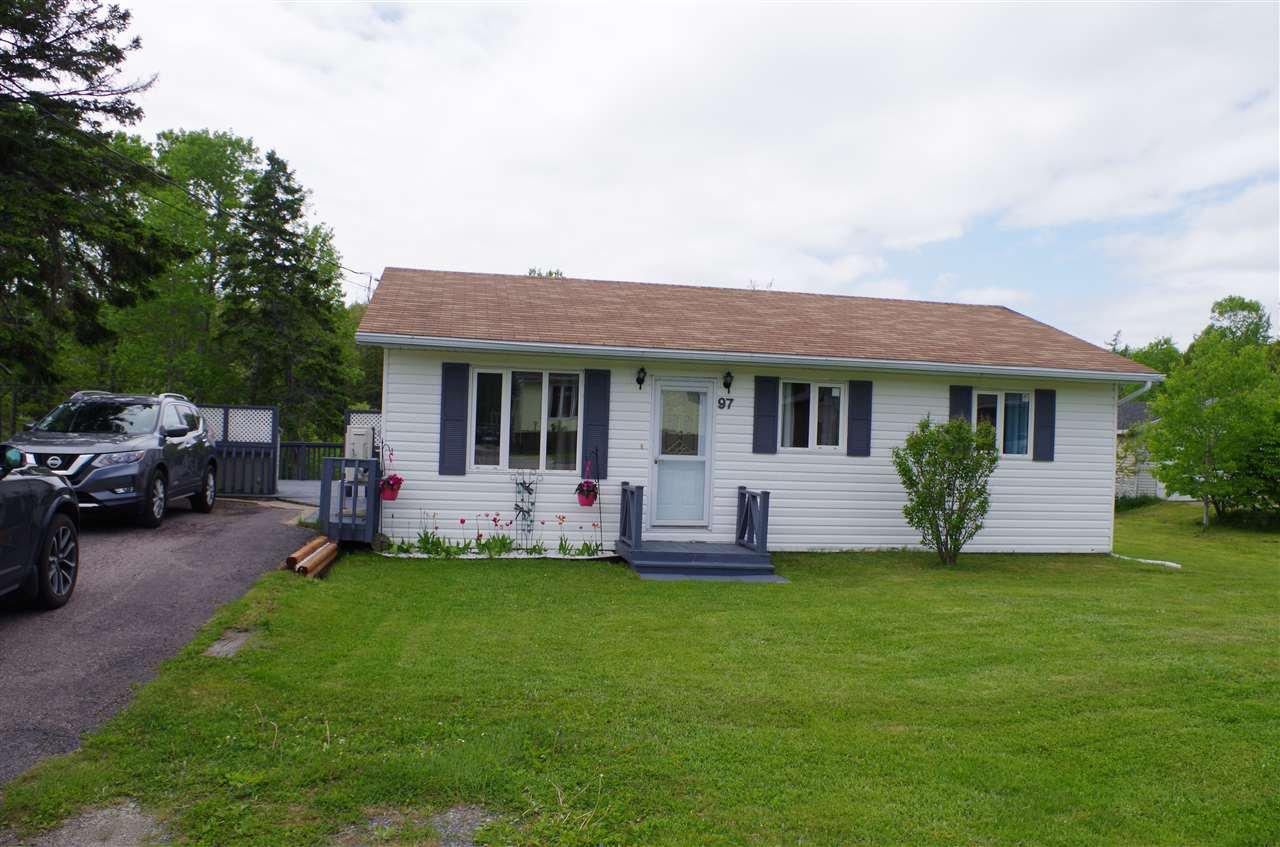 Main Photo: 97 Murphy Road in Westmount: 202-Sydney River / Coxheath Residential for sale (Cape Breton)  : MLS®# 202010232