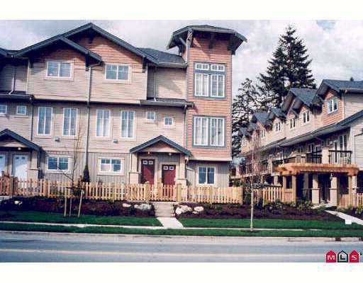 "Photo 1: Photos: 52 5839 PANORAMA Drive in Surrey: Sullivan Station Townhouse for sale in ""Forest Gate"" : MLS®# F2710483"