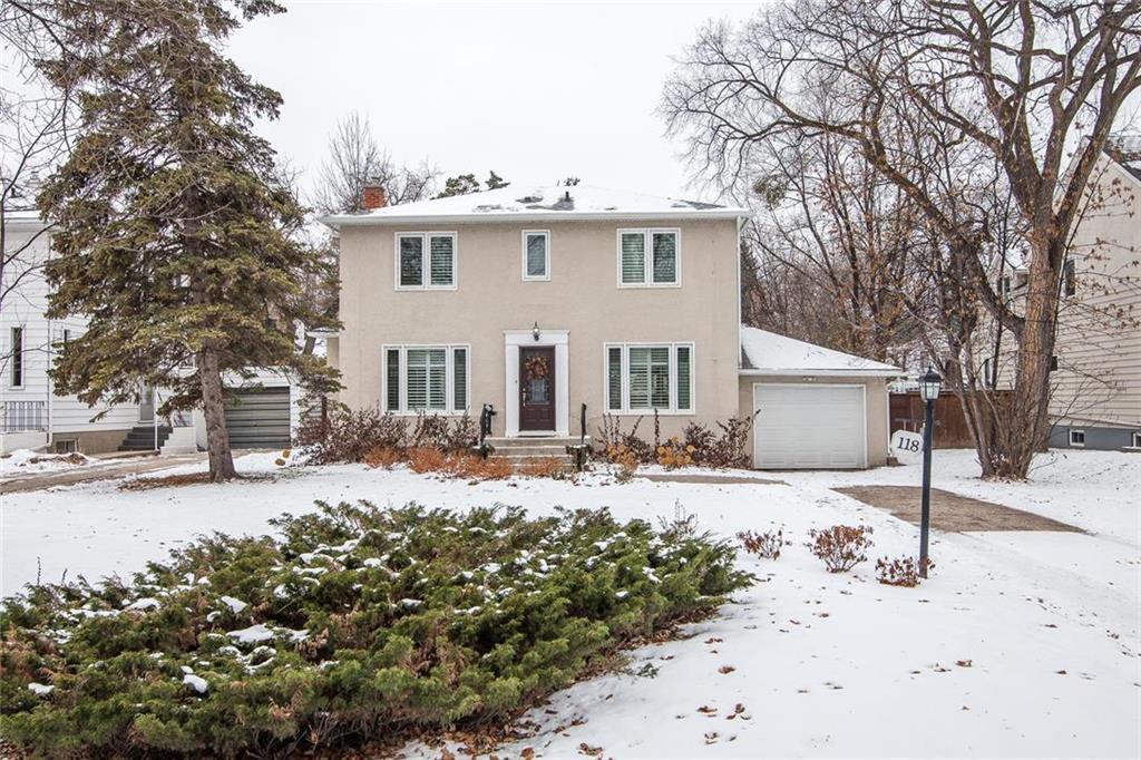 Main Photo: 118 Chataway Boulevard in Winnipeg: Tuxedo Residential for sale (1E)  : MLS®# 1927328