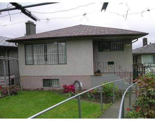 Main Photo: 1920 RUPERT Street in Vancouver: Renfrew VE House for sale (Vancouver East)  : MLS®# V643837