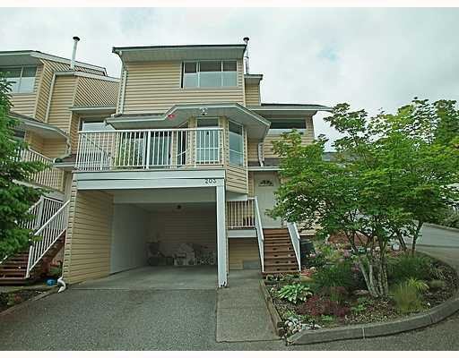 "Main Photo: 203 1176 FALCON Drive in Coquitlam: Eagle Ridge CQ Townhouse for sale in ""FALCON HILL"" : MLS®# V715631"