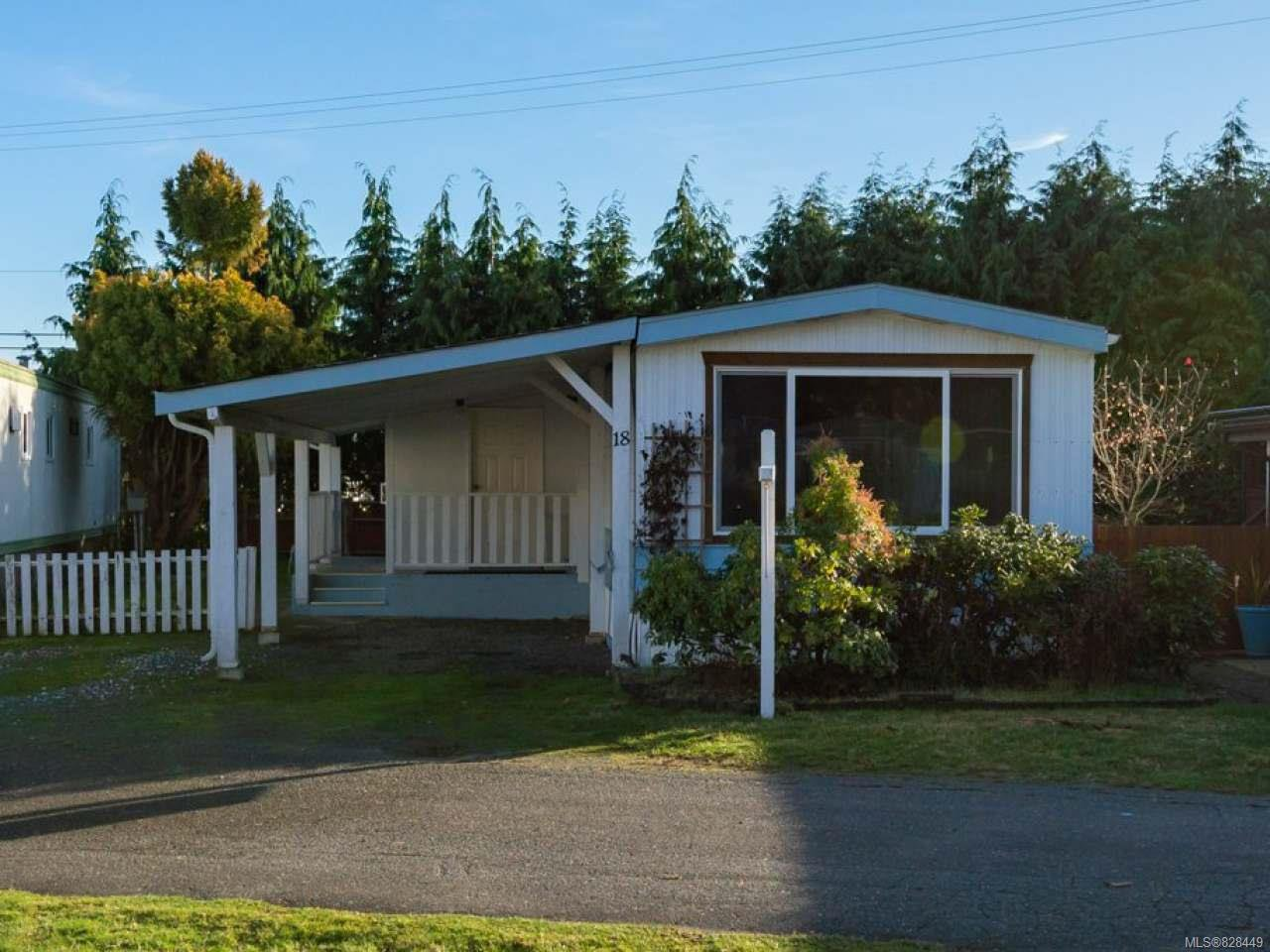 Main Photo: 18 1800 Perkins Rd in CAMPBELL RIVER: CR Campbell River North Manufactured Home for sale (Campbell River)  : MLS®# 828449