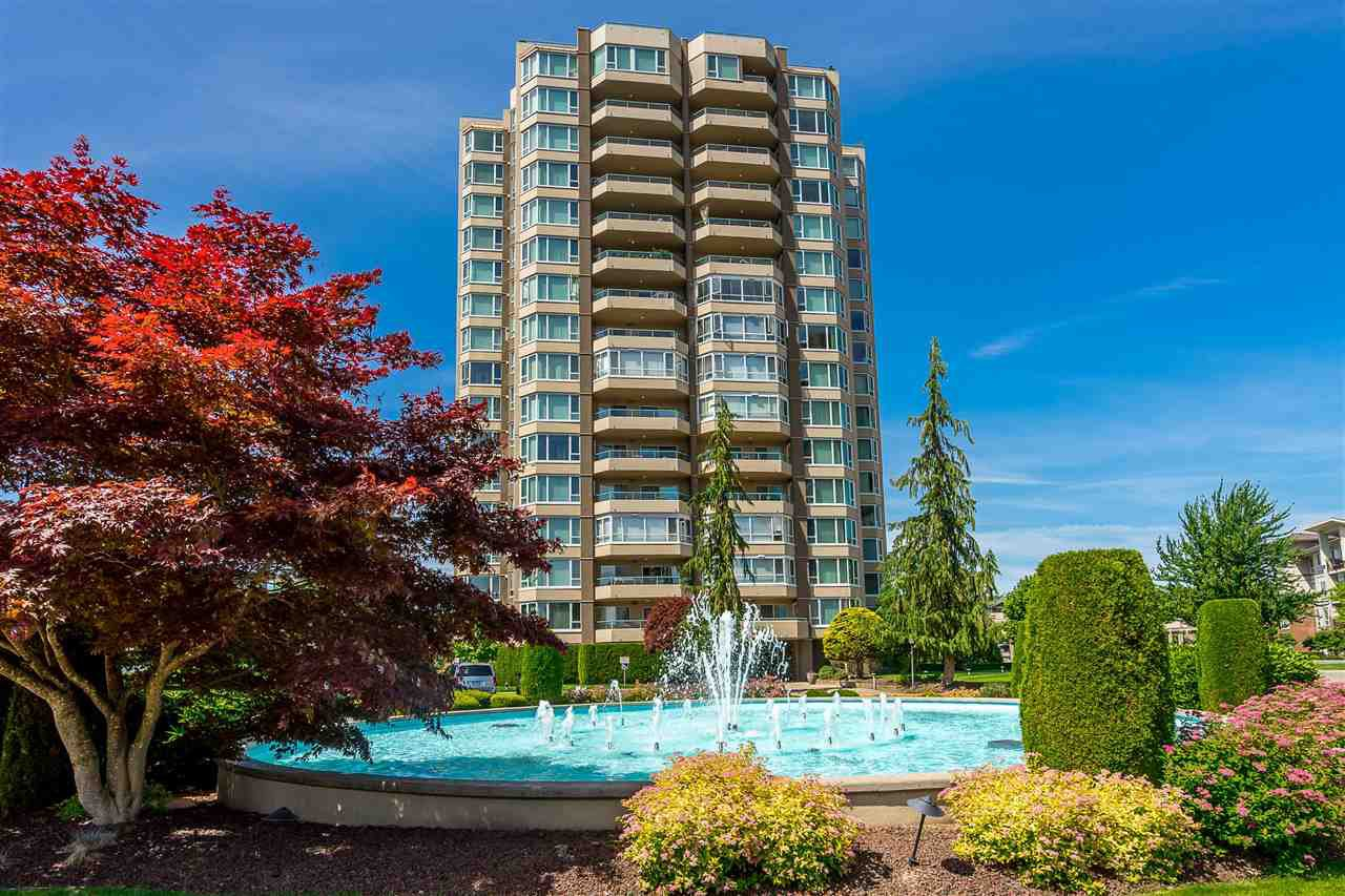 "Main Photo: 1405 3150 GLADWIN Road in Abbotsford: Central Abbotsford Condo for sale in ""The Regency Towers"" : MLS®# R2440511"