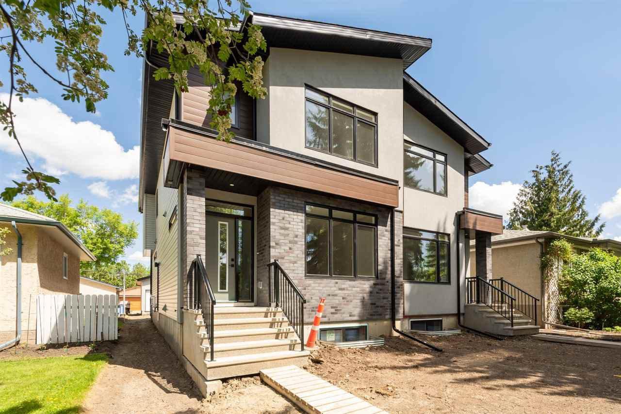 Main Photo: 7938 83 Avenue in Edmonton: Zone 18 House Half Duplex for sale : MLS®# E4217865