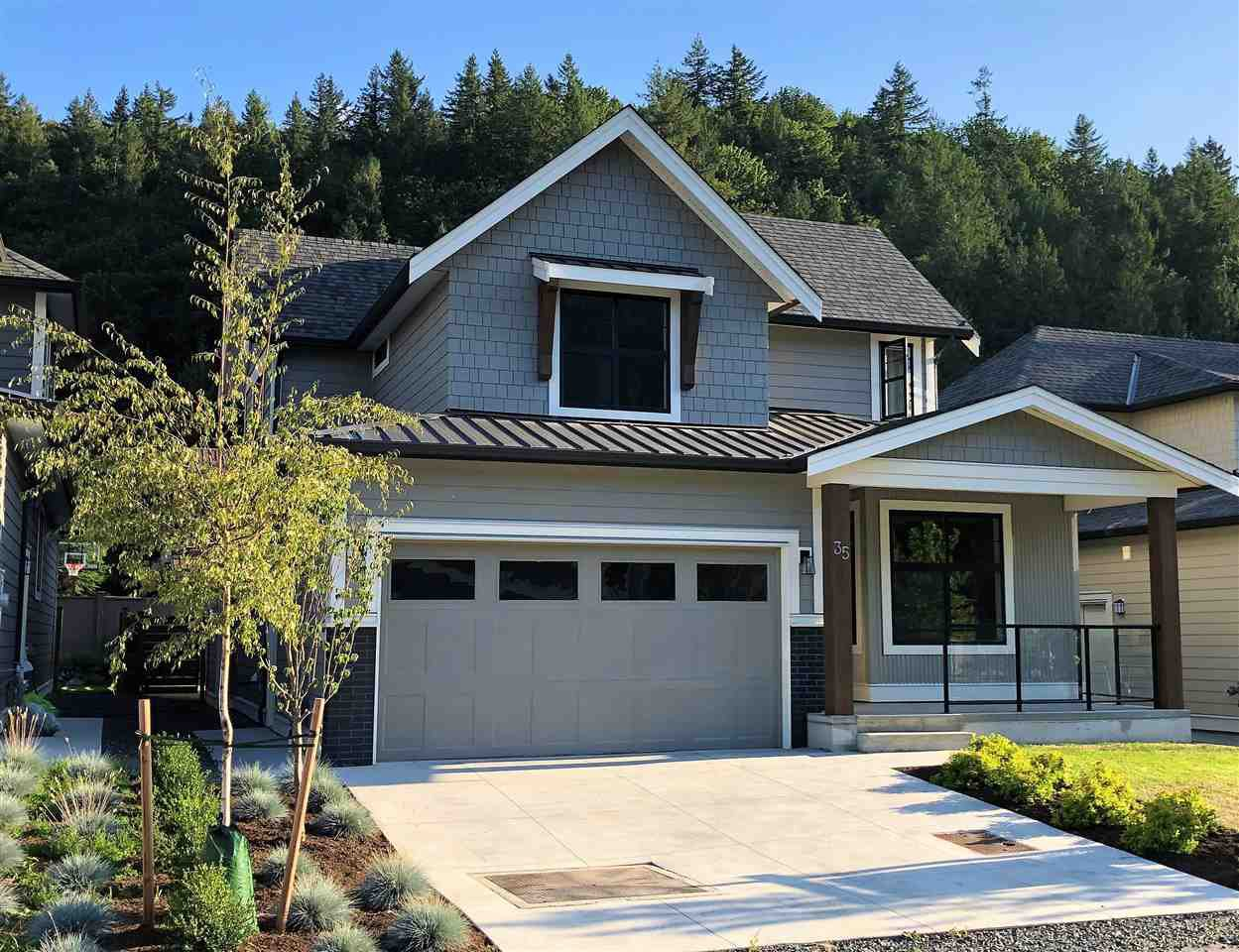 "Main Photo: 35 1885 COLUMBIA VALLEY Road in Cultus Lake: Lindell Beach House for sale in ""Aquadel Crossing"" : MLS®# R2401939"