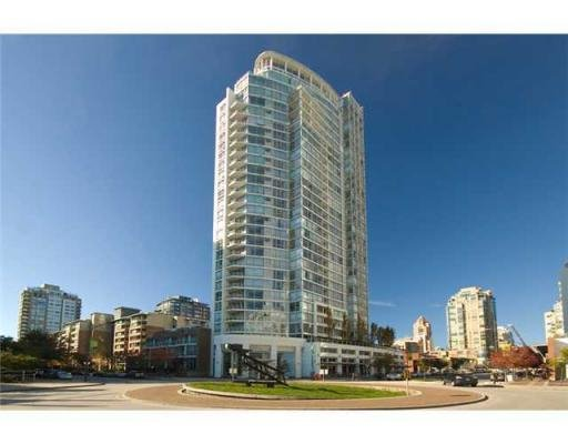 Main Photo: # 606 1201 MARINASIDE CR in Vancouver: Yaletown Condo for sale (Vancouver West)  : MLS®# V826272