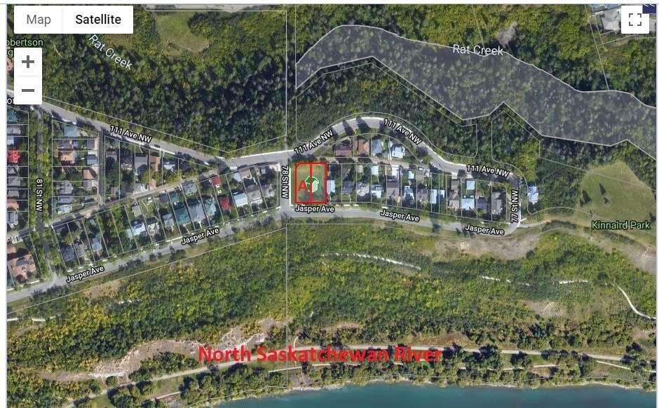 Main Photo: 7780 Jasper Avenue in Edmonton: Zone 09 Vacant Lot for sale : MLS®# E4198742