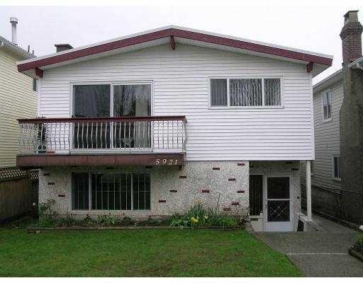 Main Photo: 5921 KERR Street in Vancouver: Killarney VE House for sale (Vancouver East)  : MLS®# V638882
