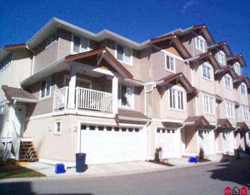 "Main Photo: 31 12711 64TH AV in Surrey: West Newton Townhouse for sale in ""PALETTE ON THE PARK"" : MLS®# F2613587"