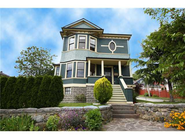 Main Photo: 815 MILTON ST in New Westminster: Uptown NW House for sale : MLS®# V840080