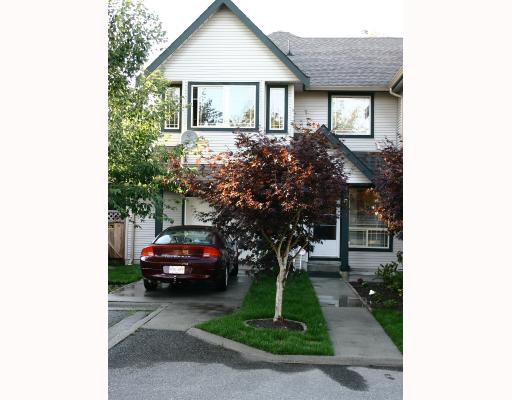 Main Photo: 9 22980 ABERNETHY Lane in Maple_Ridge: East Central Townhouse for sale (Maple Ridge)  : MLS®# V663658