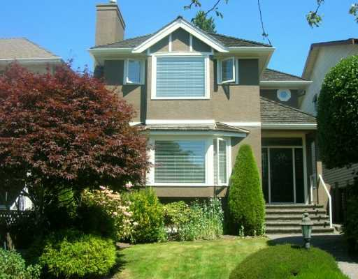 Main Photo: 3531 W 32ND AV in Vancouver: Dunbar House for sale (Vancouver West)  : MLS®# V599942