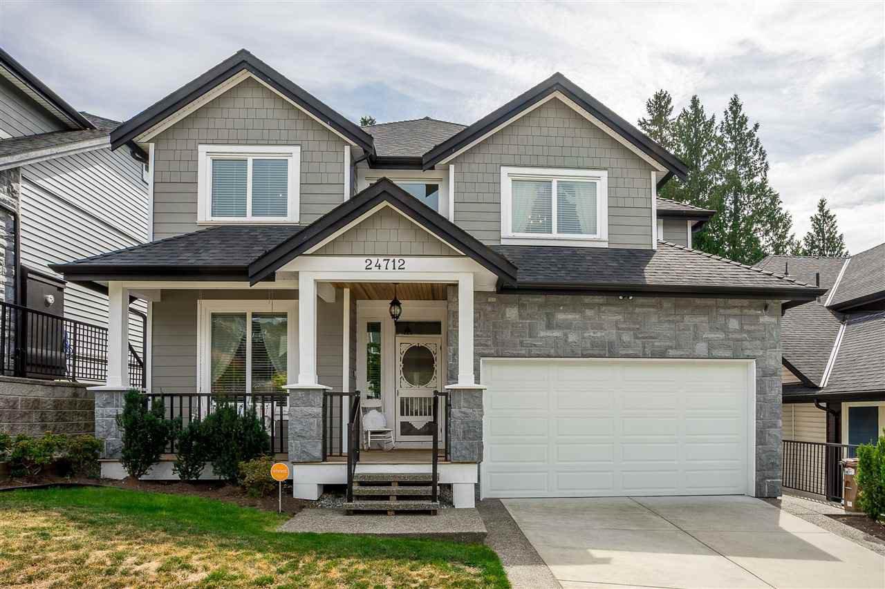 "Main Photo: 24712 100A Avenue in Maple Ridge: Albion House for sale in ""Jackson Ridge"" : MLS®# R2401020"
