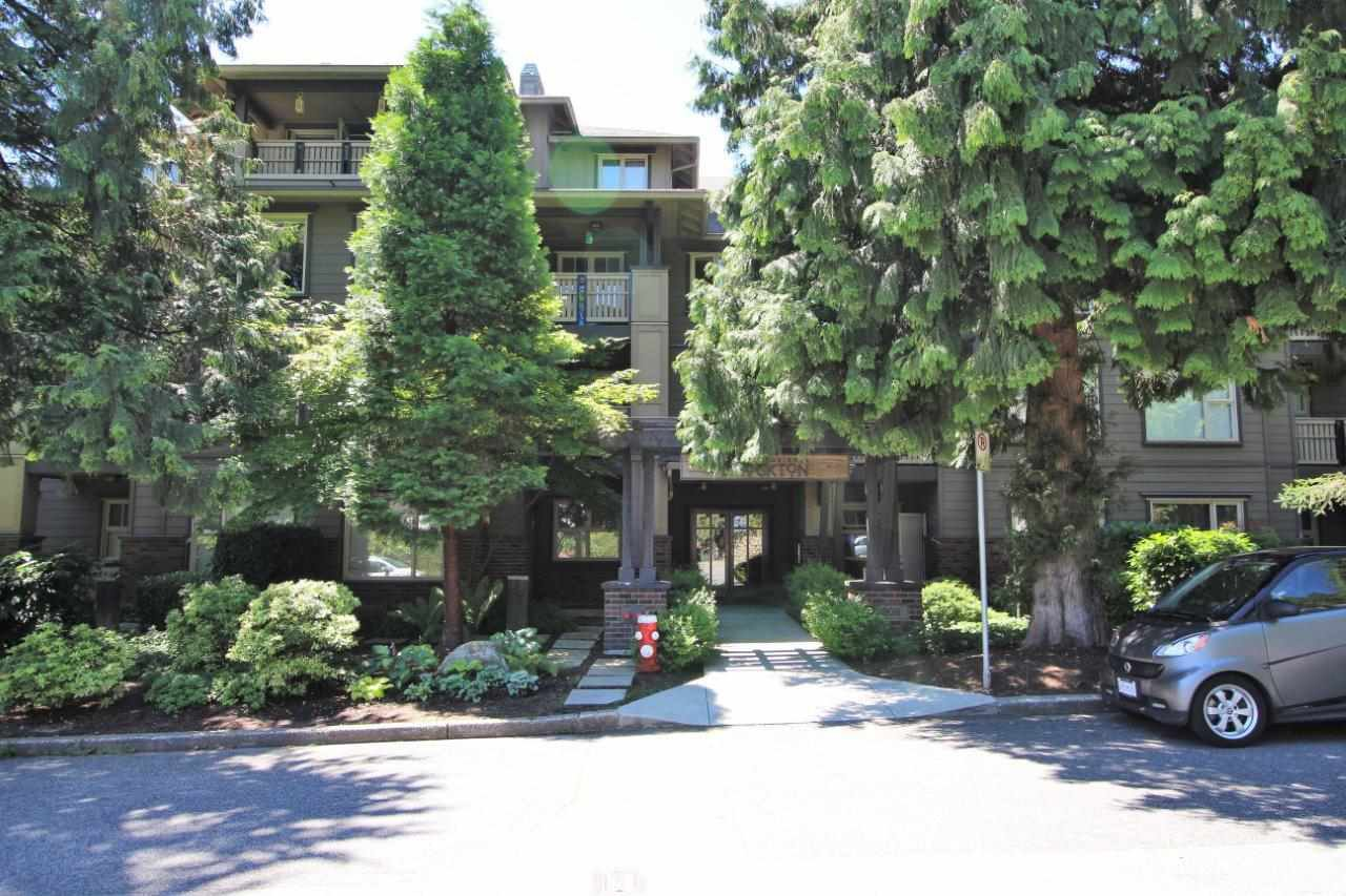 "Main Photo: 304 808 SANGSTER Place in New Westminster: The Heights NW Condo for sale in ""THE BROCKTON"" : MLS®# R2409398"