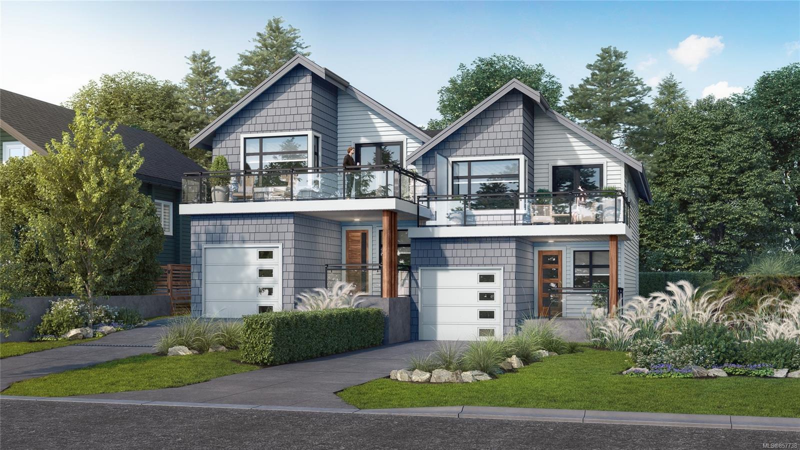 Main Photo: 469 Sturdee St in : Es Saxe Point Half Duplex for sale (Esquimalt)  : MLS®# 857738