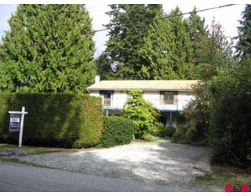 "Main Photo: 2740 124B Street in White Rock: Crescent Bch Ocean Pk. House for sale in ""CRESCENT HEIGHTS"" (South Surrey White Rock)  : MLS®# F2704479"