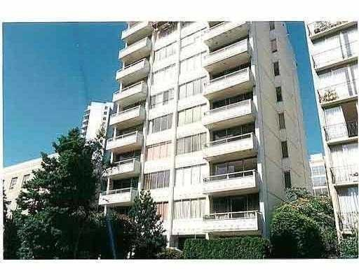 Main Photo: # 1003 1967 BARCLAY ST in Vancouver: Condo for sale : MLS®# V780130