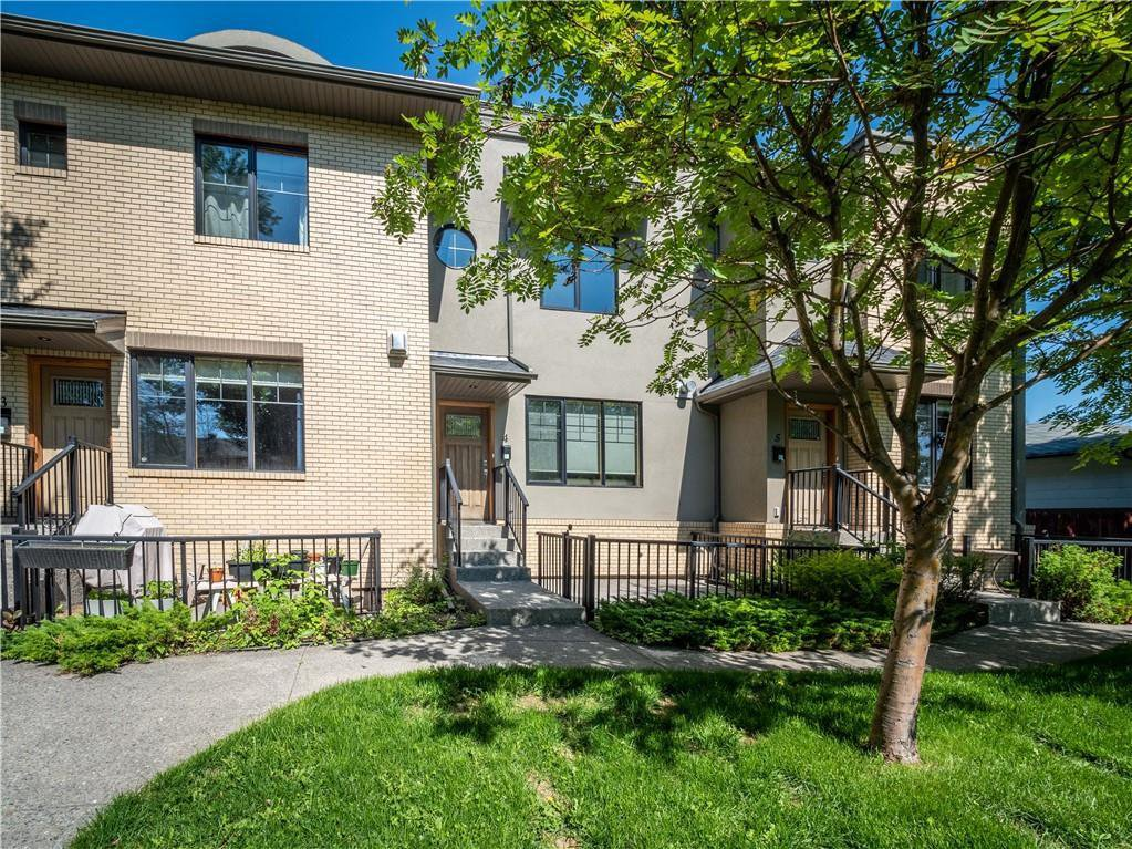 Main Photo: 4 535 33 Street NW in Calgary: Parkdale Row/Townhouse for sale : MLS®# C4305814