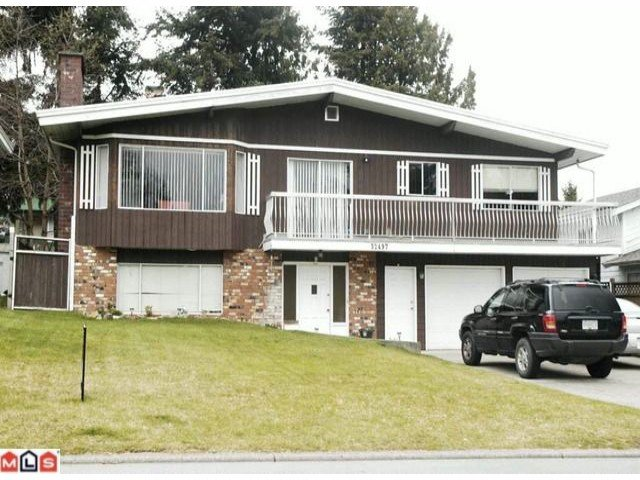 Main Photo: 32497 Oriole Cr in Abbotsford: Abbotsford West House for sale : MLS®# F1006518