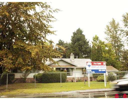 Main Photo: 18351 64TH Avenue in Surrey: Cloverdale BC House for sale (Cloverdale)  : MLS®# F2724948