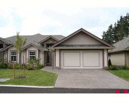 """Main Photo: 13 3348 MT LEHMAN Road in Abbotsford: Central Abbotsford Townhouse for sale in """"EDEN COURT"""" : MLS®# F2807571"""