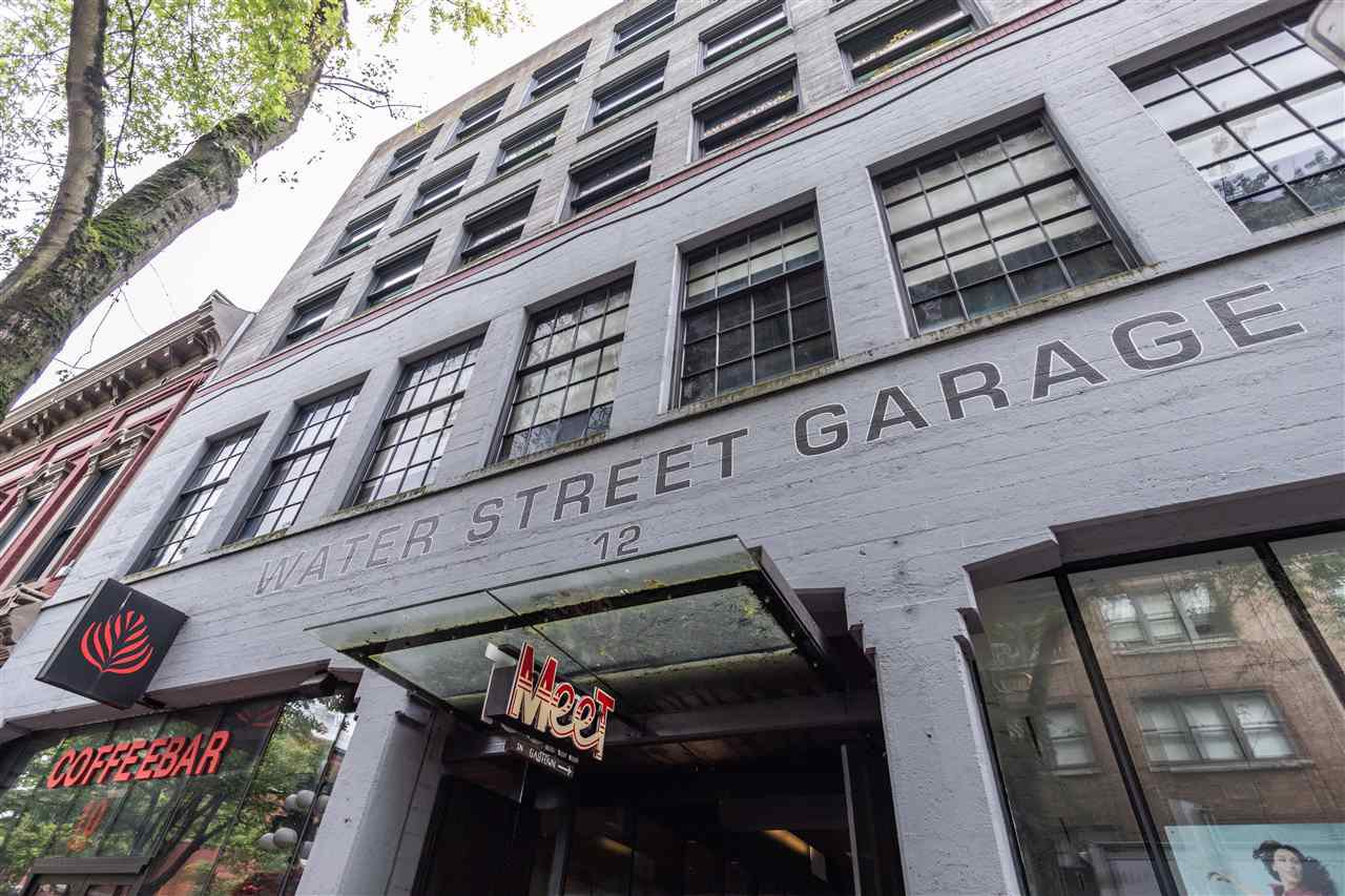 """Main Photo: 308 12 WATER Street in Vancouver: Downtown VW Condo for sale in """"The Garage"""" (Vancouver West)  : MLS®# R2479325"""