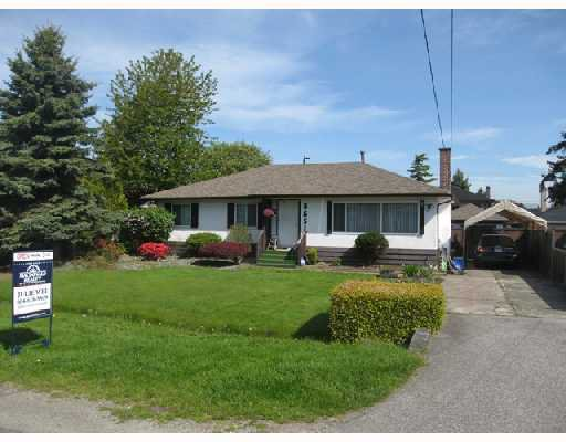 Main Photo: 8651 MOWBRAY Road in Richmond: Saunders House for sale : MLS®# V709884