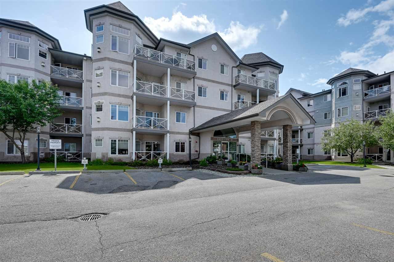 Main Photo: 102 2420 108 Street NW in Edmonton: Zone 16 Condo for sale : MLS®# E4167628