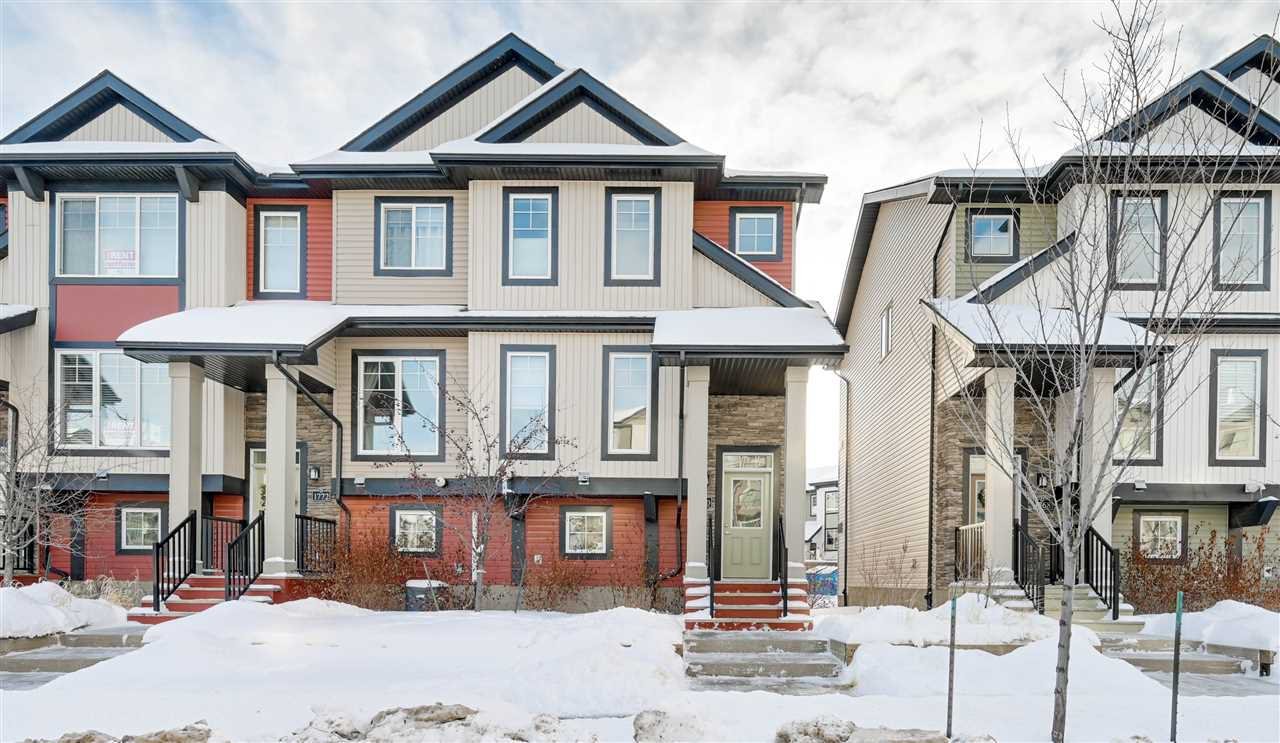 Main Photo: 1770 CUNNINGHAM Way in Edmonton: Zone 55 Townhouse for sale : MLS®# E4185142
