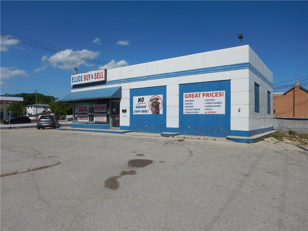 Main Photo: 804 Ellice Avenue in Winnipeg: Industrial / Commercial / Investment for sale (5A)  : MLS®# 202026156