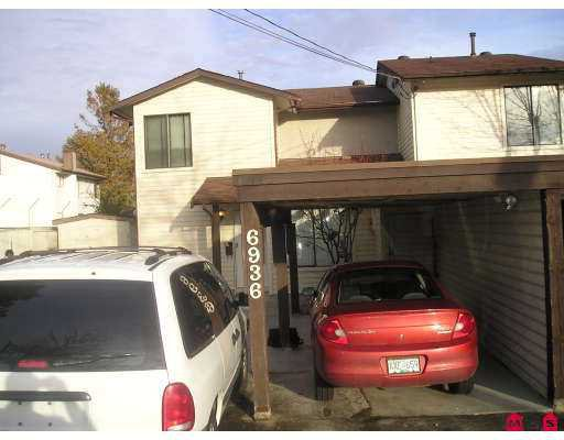 Main Photo: 6936 134TH Street in Surrey: West Newton House 1/2 Duplex for sale : MLS®# F2705876