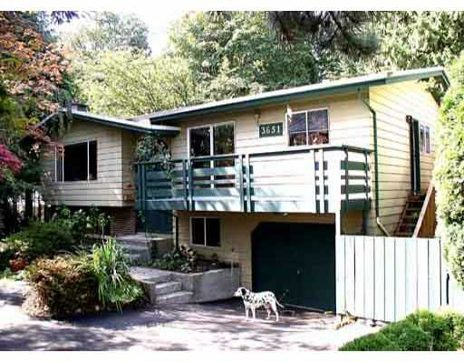 Main Photo: 3651 MCRAE CR in Port_Coquitlam: Woodland Acres PQ House for sale (Port Coquitlam)  : MLS®# V361872