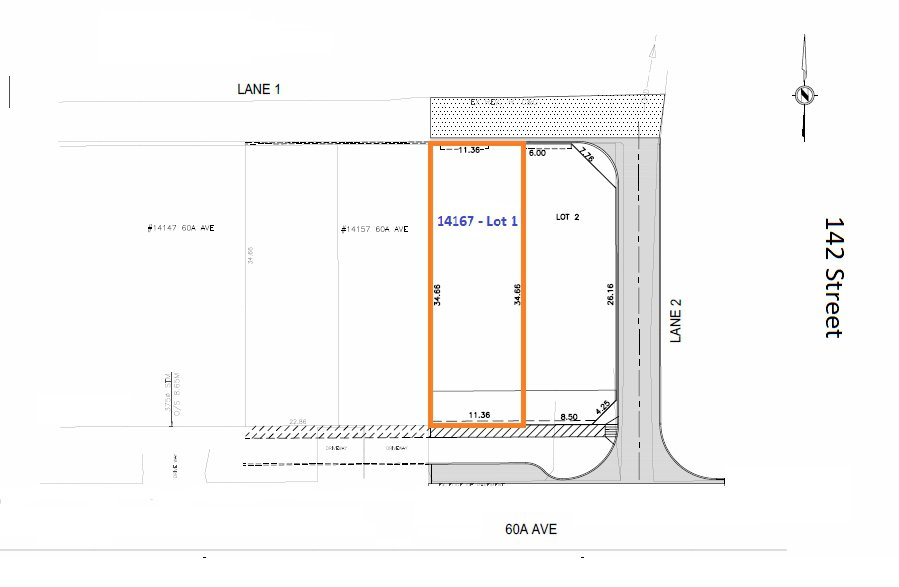 Main Photo: LT.1 14167 60A Avenue in Surrey: Sullivan Station Land for sale : MLS®# R2428099
