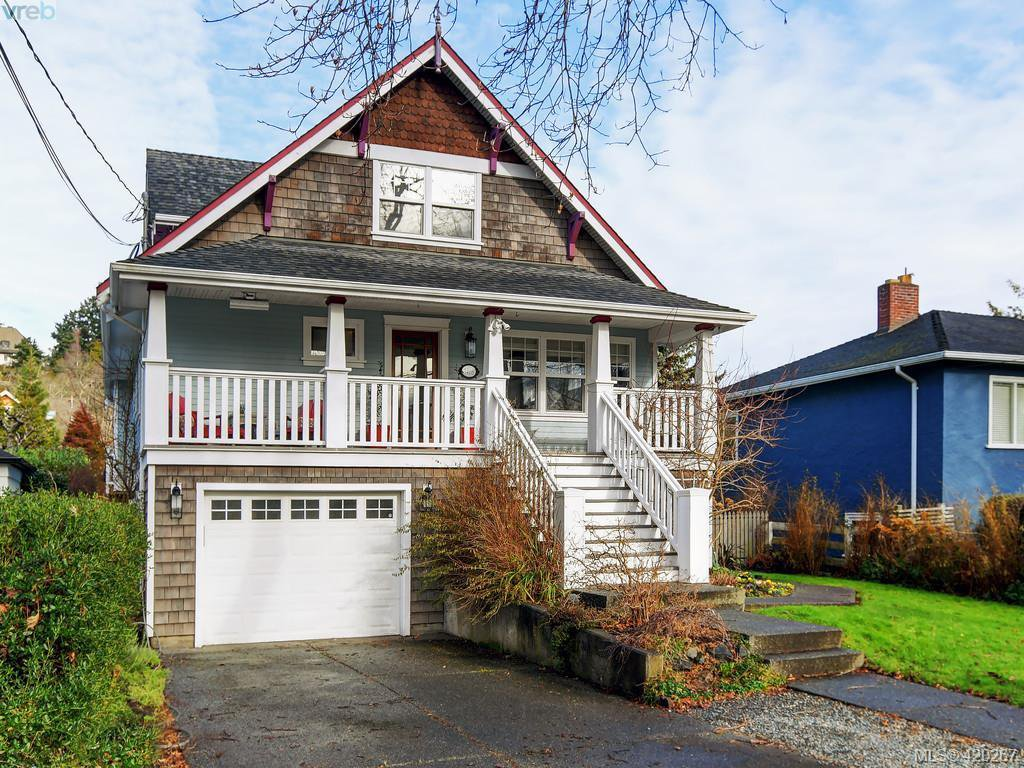 Main Photo: 1468 Hamley Street in VICTORIA: Vi Fairfield West Single Family Detached for sale (Victoria)  : MLS®# 420267