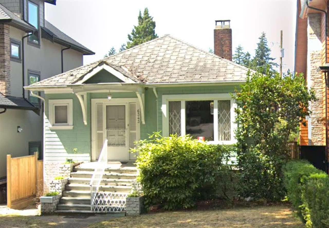 Main Photo: 6343 YEW Street in Vancouver: Kerrisdale House for sale (Vancouver West)  : MLS®# R2441168
