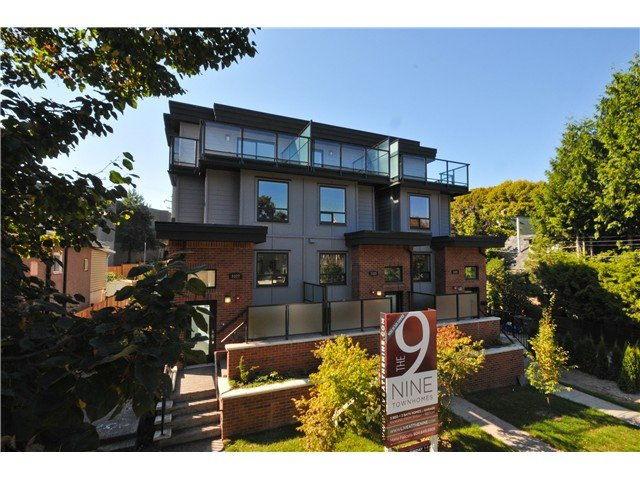 "Main Photo: 3331 Windsor in Vancouver: Fraser VE Townhouse  in ""The Nine"" ()"