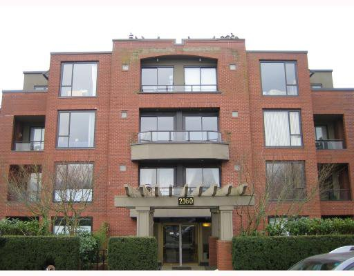 Main Photo: 303 2160 CORNWALL Avenue in Vancouver: Kitsilano Condo for sale (Vancouver West)  : MLS®# V685450
